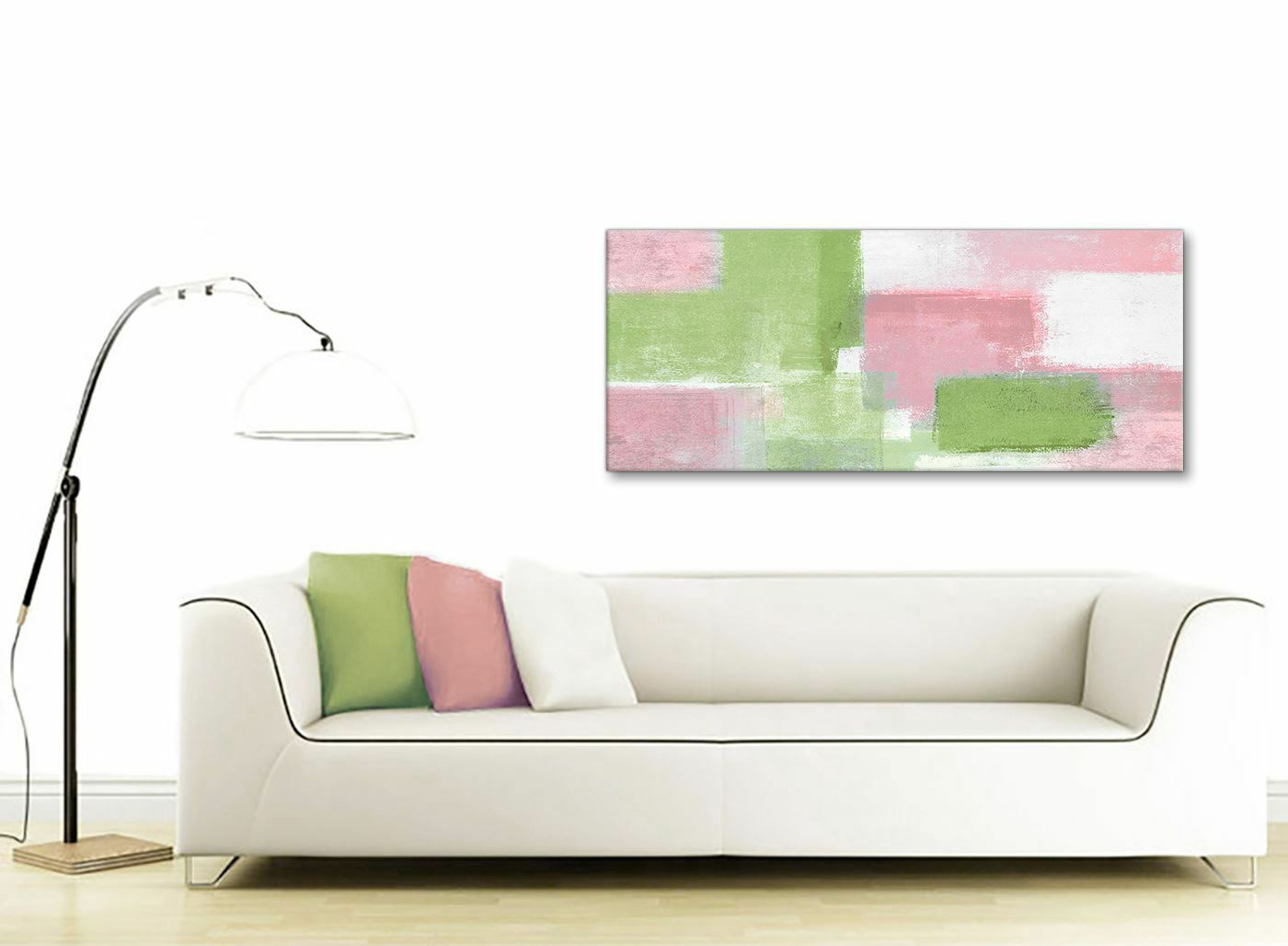 Rosa Lime Grün Living Room Canvas Accessories - Abstract Abstract Abstract 1374 - 120cm Print 40a61d