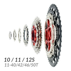 Cassette-10-11-12-Velocidades-11-40-42-46-50-Dientes-Shimano-Sram-Bicicleta-MTB