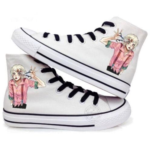 Tokyo Ghoul Juuzou Suzuya Cosplay Canvas Casual Shoes Unisex Sneakers 2 Colors