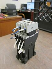 Allen-Bradley Contactor 700DC-F400* w 195-FA22 Aux Contact Block 24VDC Coil Used