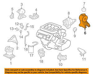 Honda Oem 99 04 Odyssey Engine Motor Mount Torque Strut 50810s0xa02 Ebay