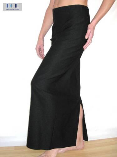 2239 stretch long skirt office black size 10-22 NEW