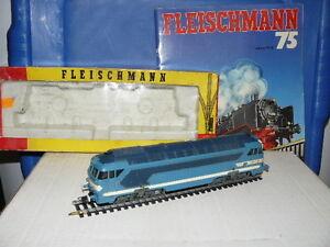 Train Echelle Ho Fleischmann Cc 68001 De La Sncf Échelle 1/87 Ème
