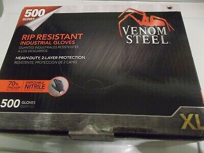 Venom Steel Nitrile Gloves 500 Count Size Large