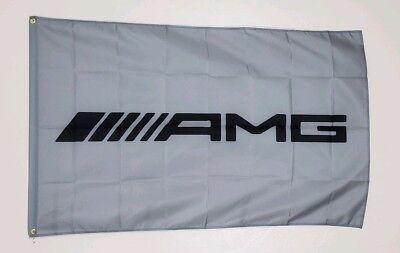 AMG Banner 3x5 Ft Flag Garage Shop Wall Decor Advertising Mercedes Benz Racing