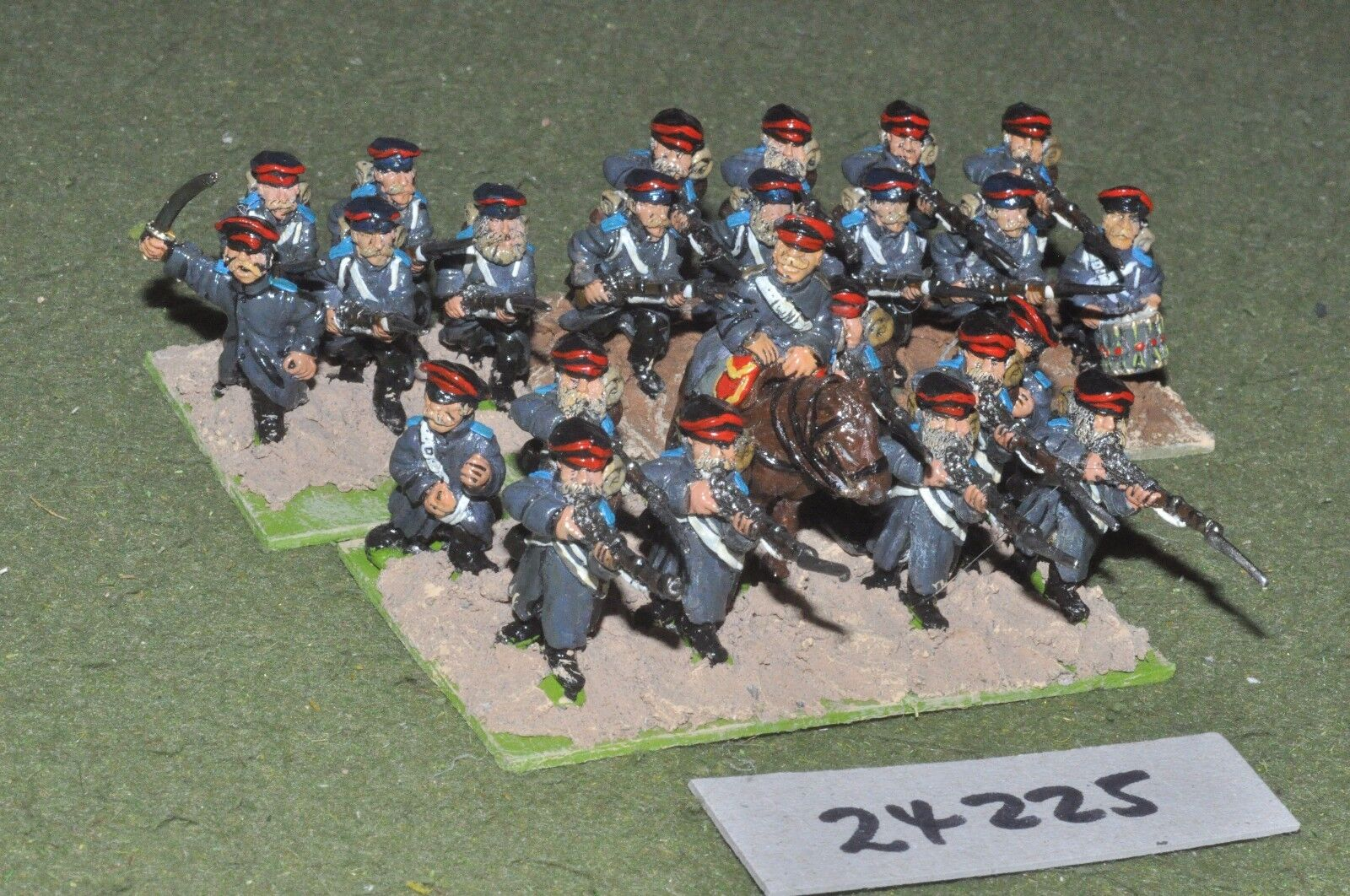 28mm 19th Century ruso-Crimea Regimiento 24 figuras-INF (24225)