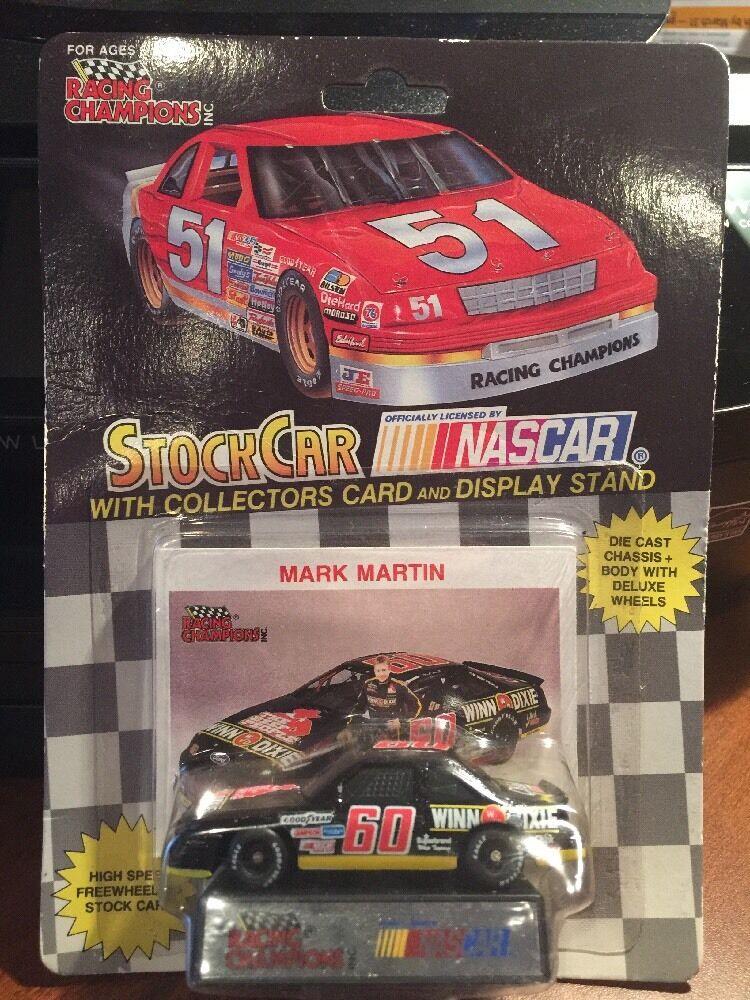 Racing Champions MARK MARTIN WINN DIXIE w Card & Display 1 64th 1992