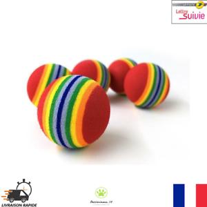 Lot-de-5-Balles-pour-chats-Multicolore-Jouet-pour-Chat-Petit-Chien-Neuf-FR