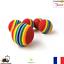 Lot-de-5-Balles-pour-chats-Multicolore-Jouet-pour-Chat-Petit-Chien-Neuf-FR miniature 1