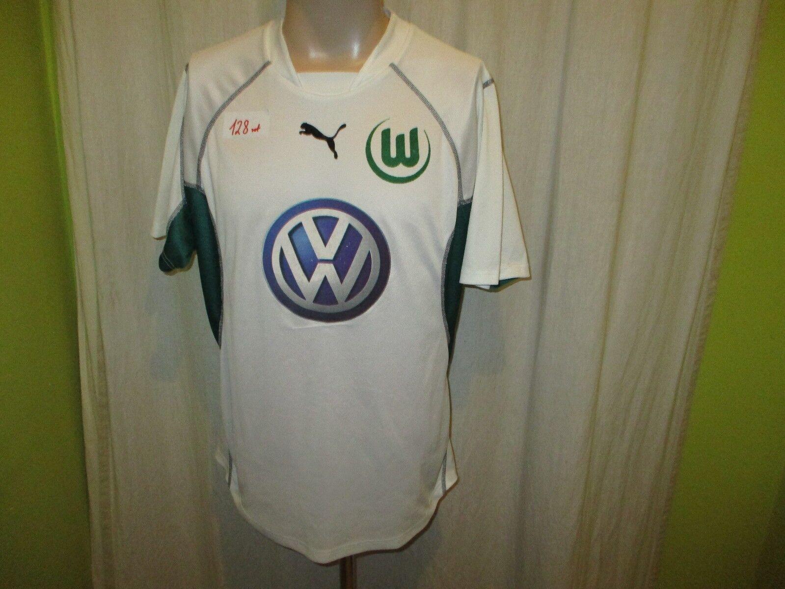 VfL VfL VfL Wolfsburg Original Puma Heim Trikot 2002 03  VW  Gr.L f2c2c7