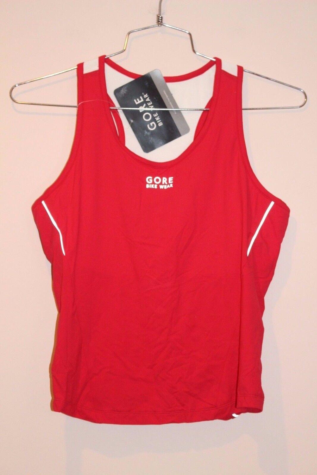 GORE BIKE WEAR Contest II Lady Woman's Tank Jersey Size XXL RED  NEW