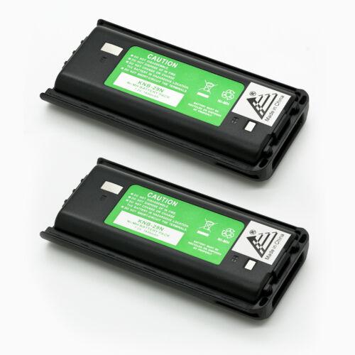 2 x KNB-29N KNB-30A Battery for KENWOOD ProTalk TK-2200 TK-2300 TK-3200 TK-3300