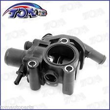 NEW ENGINE COOLANT THERMOSTAT WATER OUTLET HOUSING FOR 00-04 FORD FOCUS 2.0L-L4
