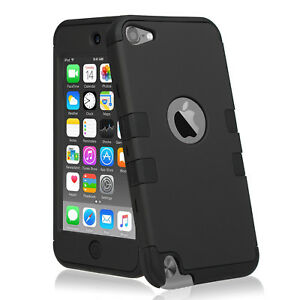 Full-Protection-Triple-Layers-Armor-iPod-Touch-5th-6th-Gen-Case-Cover-4-Colors