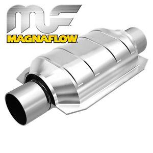 MAGNAFLOW 200 ZELLER KAT OVAL EDELSTAHL - 51mm ANSCHLUSS