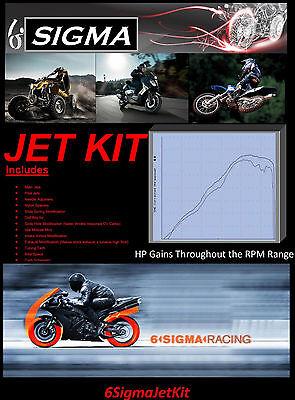 Suzuki GSF400 Bandit GSF 400 cc 6 Sigma Custom Carburetor Carb Stage 1-3 Jet Kit