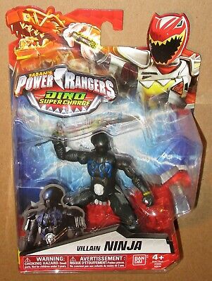 "Power Rangers Dino Super Charge CURIO VILLAIN 5/"" Action Figure 2016 Edition NISP"