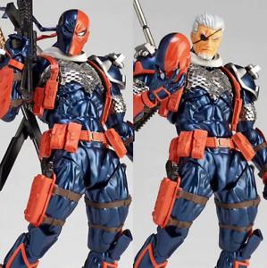 """6/"""" Deathstroke Action Figure Kaiyodo Revoltech Series 011 DC Comic Collection"""