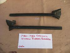 1979-1985 CADILLAC WINDOW RUBBER,WEATHERSTRIP,ELDORADO,WINDOW  RUBBER,BOTH L& R
