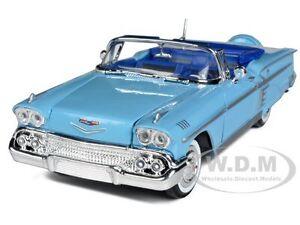 1958-CHEVROLET-IMPALA-BLUE-1-24-DIECAST-MODEL-BY-MOTORMAX-73267