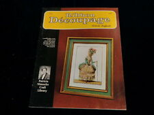 Ribbon Decoupage Book How to Using Fabric and Lace Create Fashion Pictures A40a