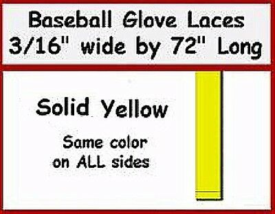 """Two Laces ~ BRIGHT RED BASEBALL GLOVE Repair Leather laces 3//16/"""" X 72/"""" 2"""