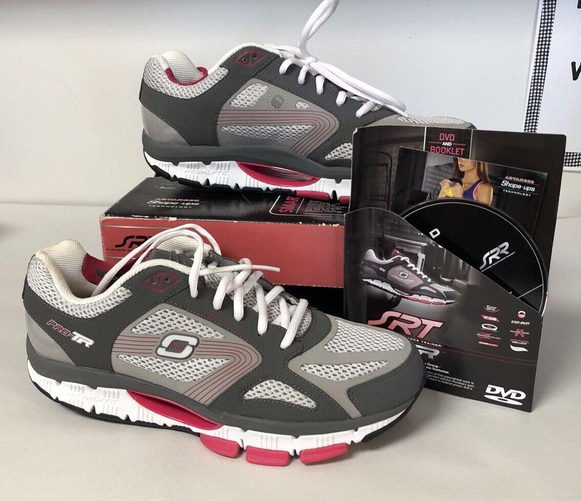 Dimensione 10 Medium NEW Skechers  Resistance Trainers Runners SRT scarpe da ginnastica
