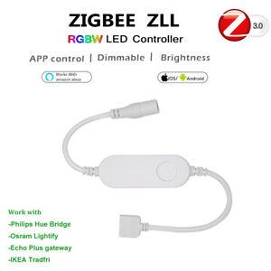 Zigbee-ZLL-Controller-for-12V-5050-RGBW-RGBWW-LED-Light-mit-Amazon-echo-Plus