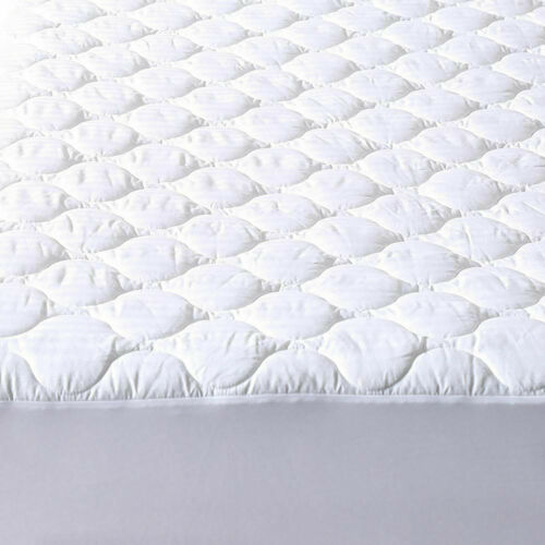 Deep Pocket Mattress Protector Defend Bed Bug Water Proof Quilted Pad Fit Cover