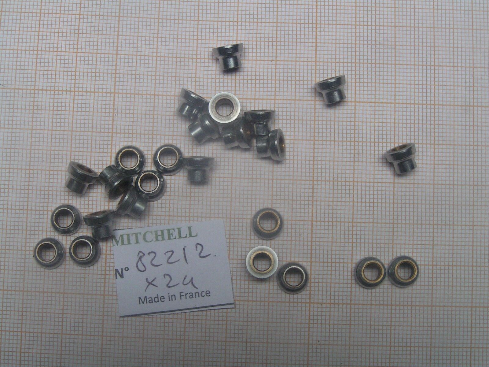 24 LINE GUIDE REEL PART 82212 GALET MOULINET MITCHELL 206 207 208 209 218 219