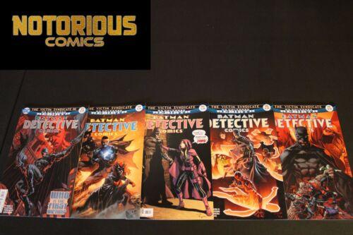 Detective Comics 943 944 945 946 947 Complete Rebirth Comic Lot Run Set