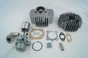 Puch-Maxi-N-S-X30-E50-70ccm-Rennsatz-Tuning-Kit-Vergaser-Zylinder-Zylinderkopf