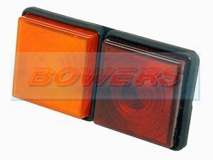 Rubbolite Arrière M312 Combinaison 2 Pod de feu IFOR WILLIAMS Remorque Cheval box  </span>