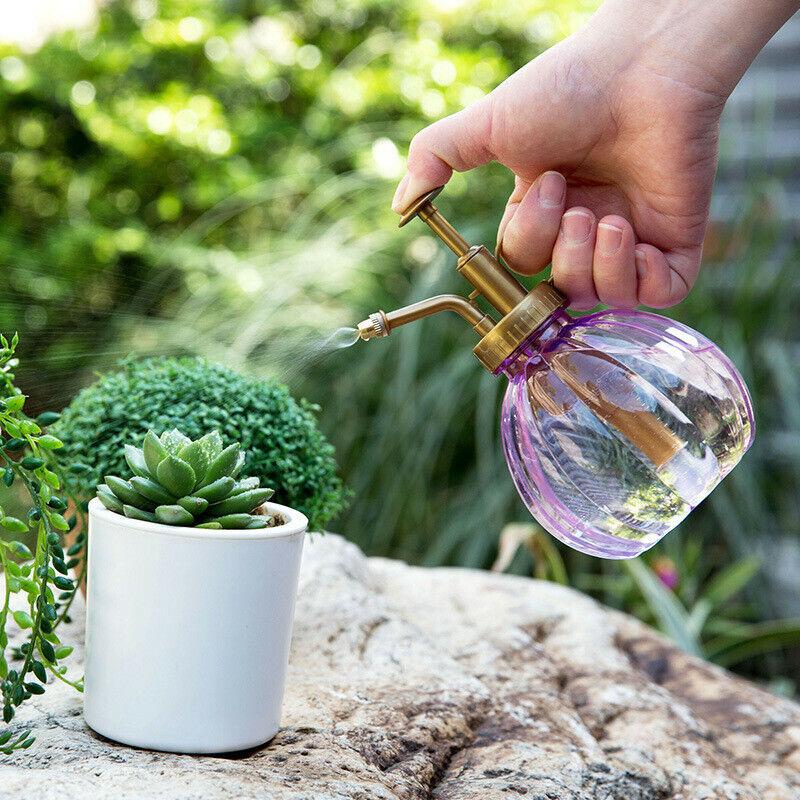 Antique Plant Flower Watering Pot Spray Bottle Garden Mister Sprayer 35 *Q