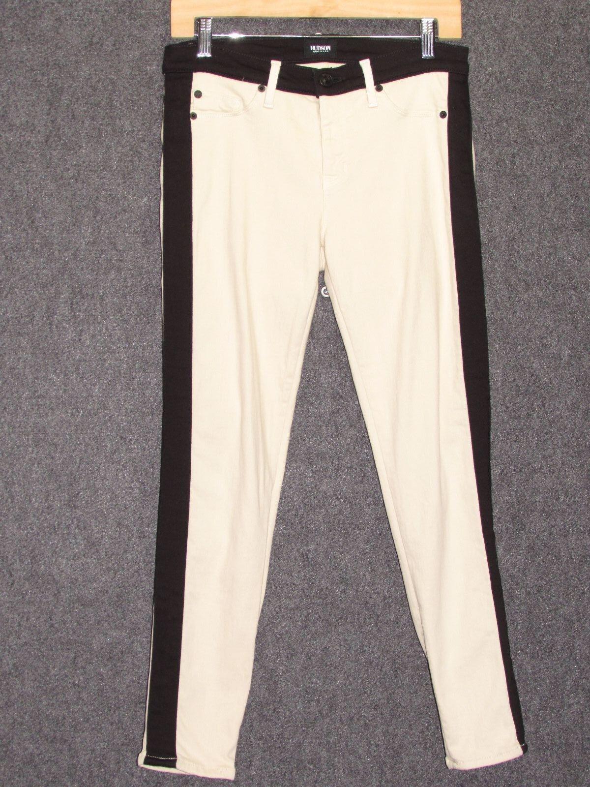 HUDSON JEANS Leeloo Super Bone Skinny Ankle Crop Jeans SZ 29