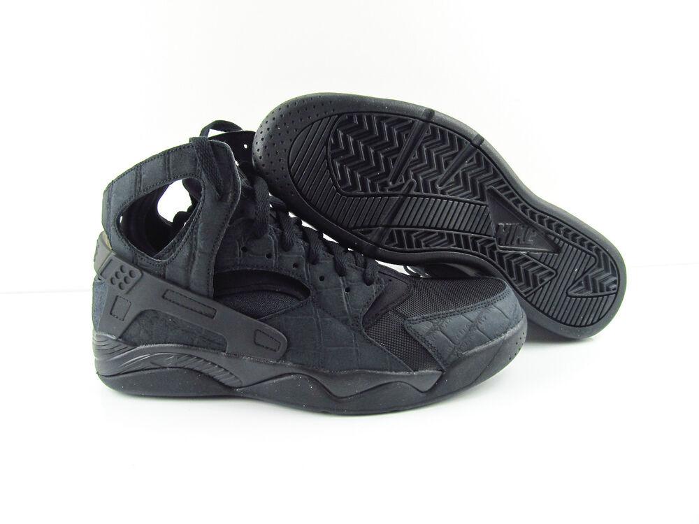 Nike Air Flight Huarache triple Noir NOUVEAU us_10 et 11 Chaussures de sport pour hommes et us_10 femmes 79a2c6