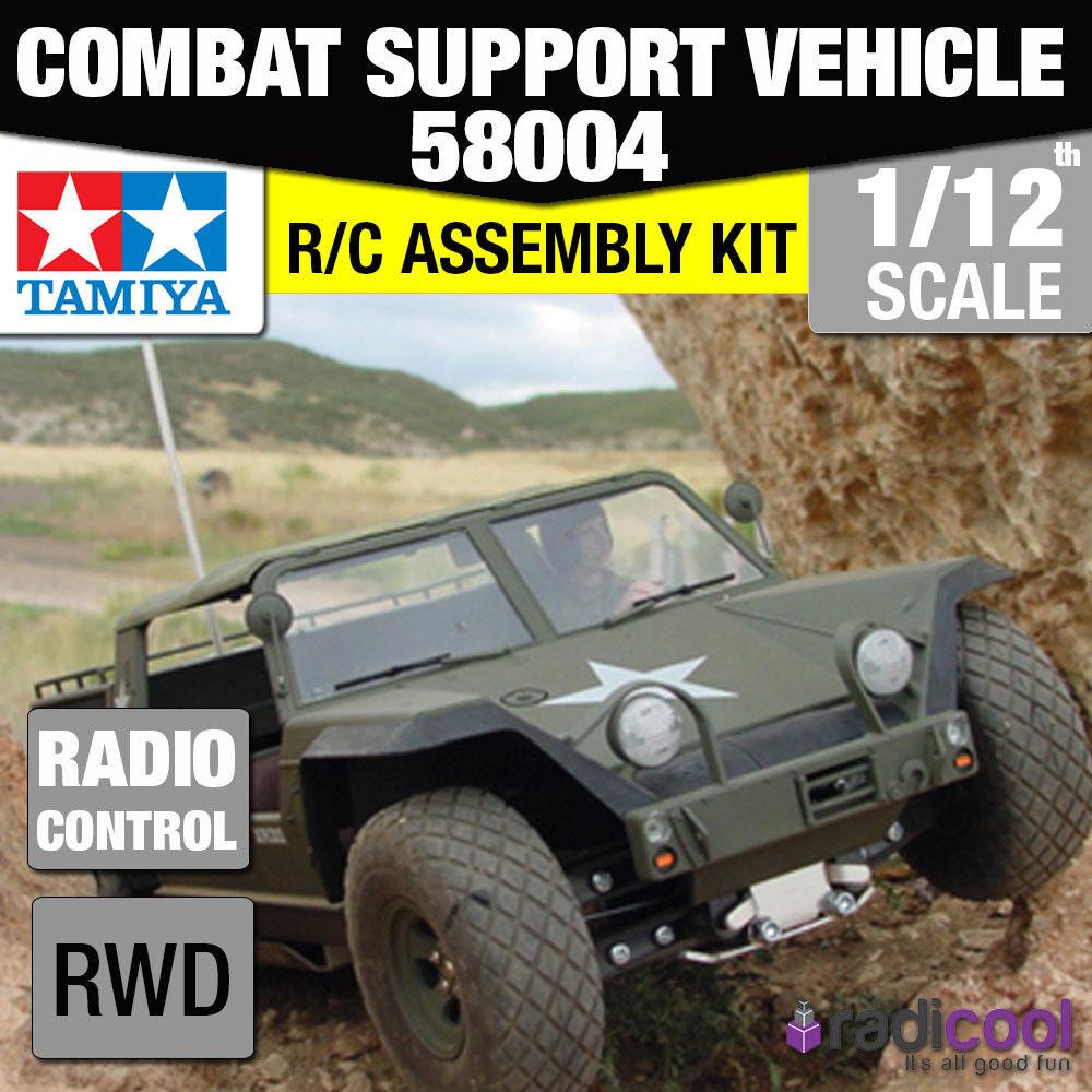 58004 TAMIYA XR311 Combat Support veicolo Ltd 1/12th R/C Radiocomando