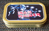 Iron Maiden-b- 1 and 2oz Tobacco/Storage Tin