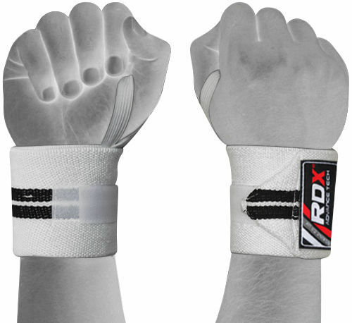 Auth RDX Wrist Weight Lifting Training Gym Straps Support Wrist Brace Fitness OS