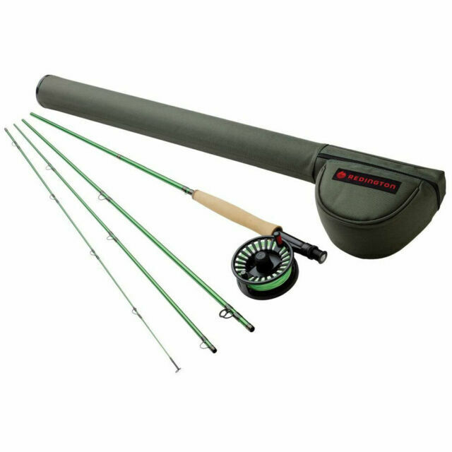 Redington 690-4 Vice 6 WT 9 Foot Fly Fishing Rod and Reel Combo 4 Piece for sale online