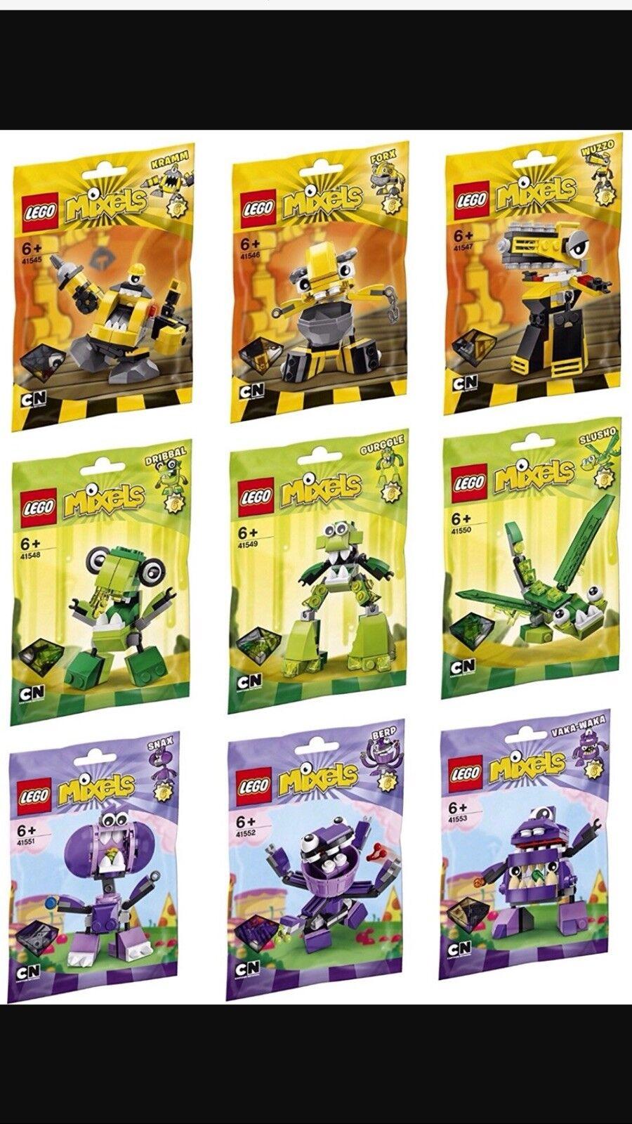 Lego Mixels Series 6 Complete Set