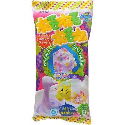 Kracie Nerunerunerune DIY KIT Make candy set GRAPE flavored CHEWY candy Japan