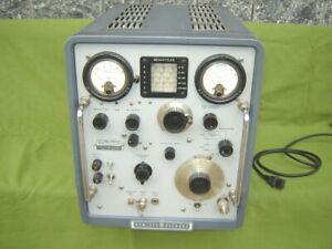 VHF Signal-Generator 608E - Hewlett-Packard, HP generatore di segnale a valvole