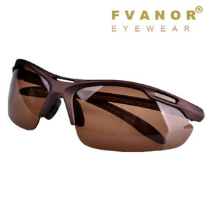 e806d1ccb5 Image is loading Mens-Cycling-Polarized-Sunglasses-UV400-Glasses -Aviator-Driving-