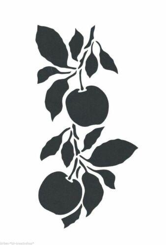 Apple Fruit Stencil  A4//A5//A6