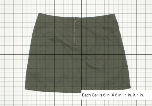 NWT A New Day Ladies Casual A Line Skirt Green 16 07202