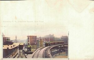 USA-Elevated-R-R-Chatham-Square-New-York-Pioneer-1890-04-21