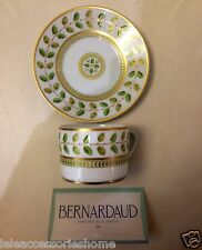 Tasse The mit Platte Pz.6 - Porzellan - Constance - Bernardaud