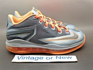 dbcc12c94a70 Image is loading Nike-LeBron-XI-11-Low-Lava-GS-sz-