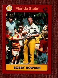 1991 Collegiate Collection Bobby Bowden  Florida State College-NCAA